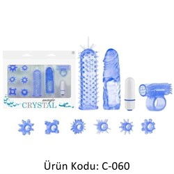 Magic Crystal Set Mavi Renk